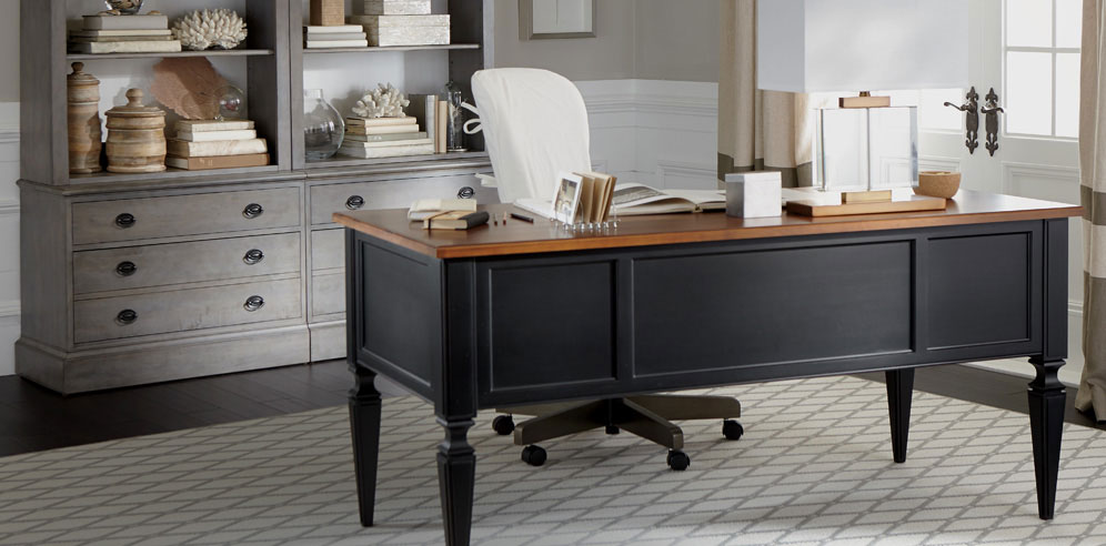 Best In Home Office Desk Shop Home Office Furniture Sets Collections Ethan Allen