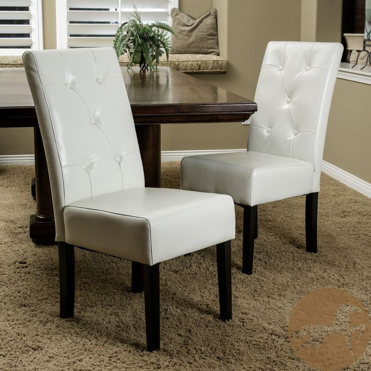 Best Ivory Kitchen Chairs Ivory Leather Dining Room Chairs Completureco