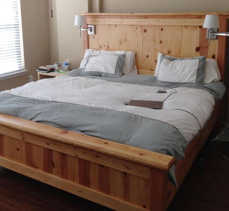 Best King Size Bed Base Bed Frame Blueprints Free Farmhouse Bed King Do It Yourself