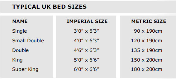 Best King Size Bed Size Bed And Mattress Size Conversion Bed And Mattress Sizes