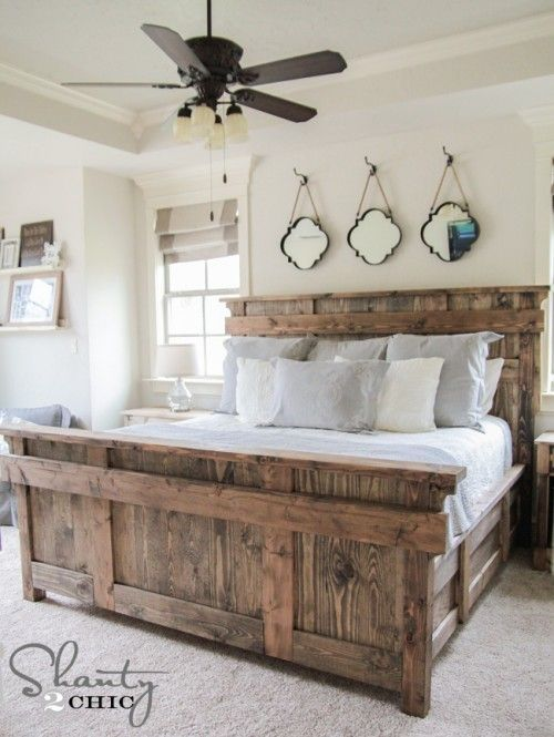 Best King Size Headboard And Frame Diy King Size Bed Free Plans Home Is Where The Heart Is