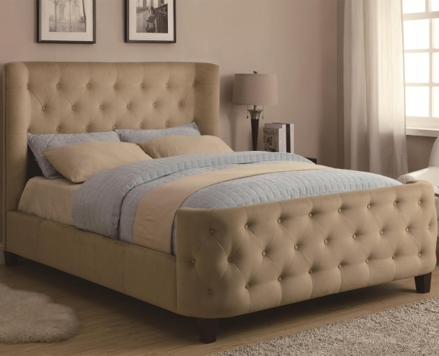 Best King Size Upholstered Headboard And Footboard Luxury Tufted Upholstered Headboard And Footboard 12 For Your King