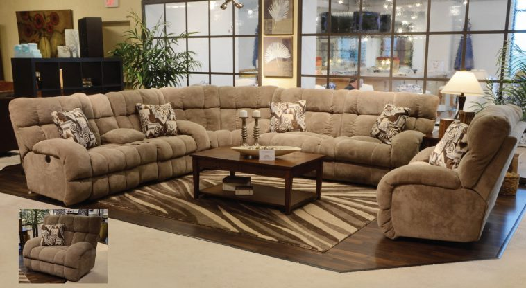Best Large Leather Sectional Couch Living Room Cream Velvet Extra Large Recliner Sectional Sofa With