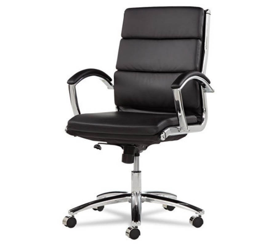 Best Leather Computer Chair Black Leather Computer Office Desk Chair With Padded Arms
