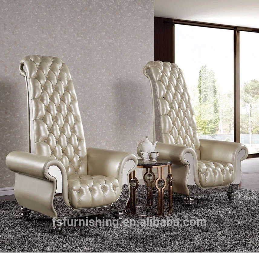 Best Leather High Back Chairs Living Room Fancy Super High Back Super King Living Room Decoration Leisure
