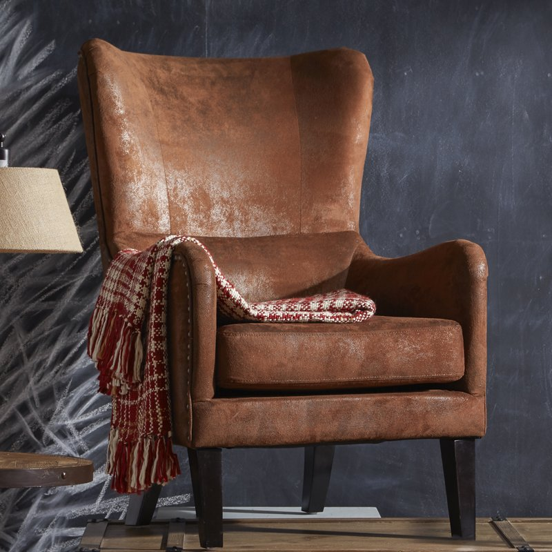 Best Leather High Back Chairs Living Room Farmhouse Accent Chairs Birch Lane