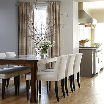 Best Low Back Dining Chairs Low Back Slipcovered Dining Chairs Design Ideas