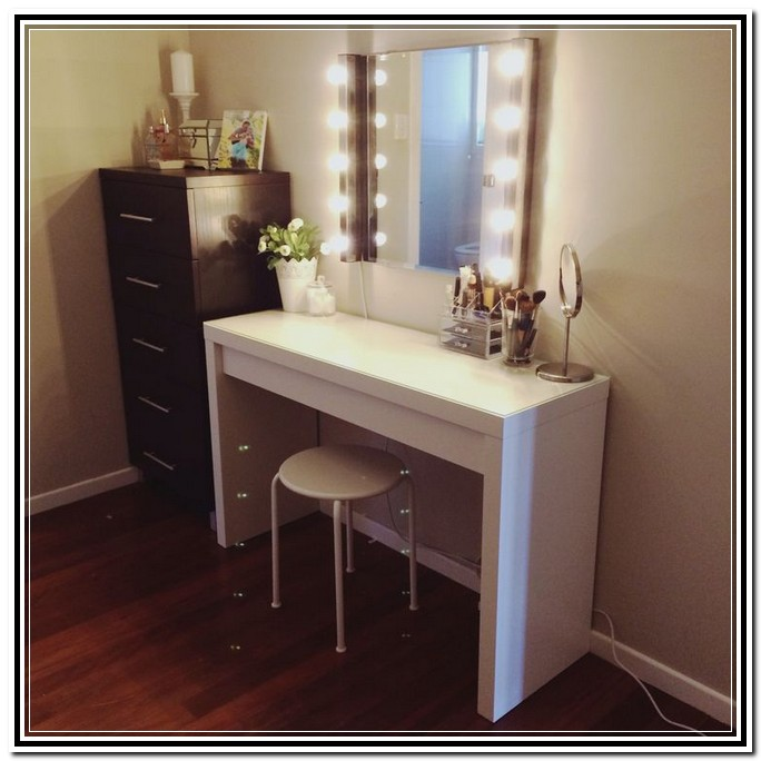 Best Makeup Table And Mirror Stylish Table Vanity Mirror Vanity Mirror With Lights And Desk