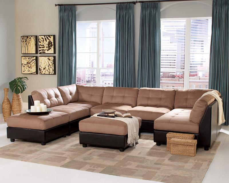 Best Microfiber Leather Sectional Sofa Bedroomdiscounters Sectional Sofa Sets