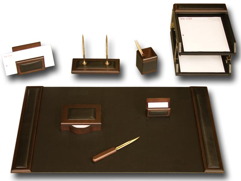 Best Office Desk Set Desk Sets Leather Hungrylikekevin