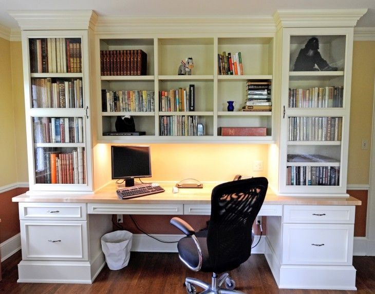 Best Office Desk With Bookcase 121 Best Bookcases And Built In Desks Images On Pinterest