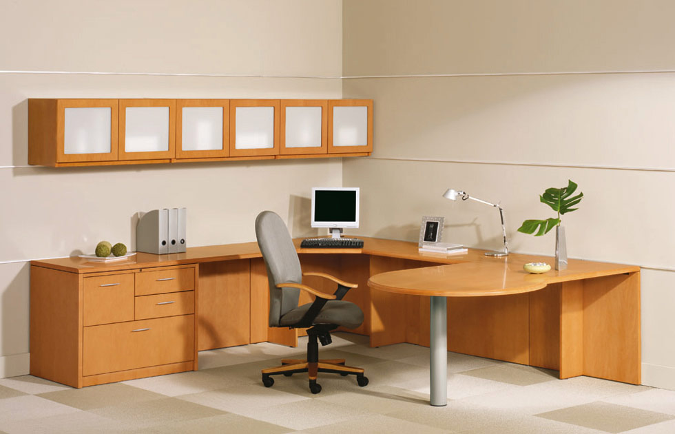 Best Office Desk With Shelves Office Desk With Storage Safarihomedecor