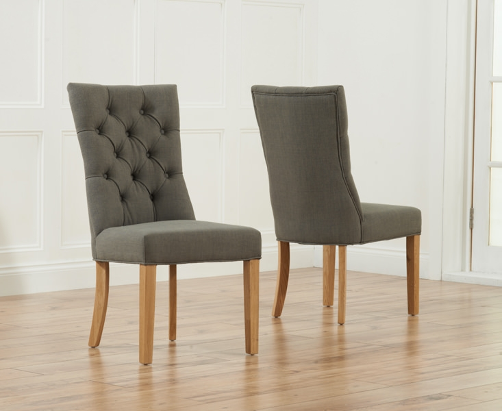 Best Pair Of Dining Chairs Buy Mark Harris Albury Grey Dining Chair Pair Online Cfs Uk
