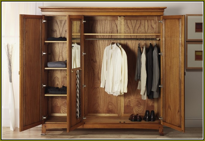 Best Real Wood Wardrobe Closets Wardrobe Closet Makes Organizing Easy In Your Room