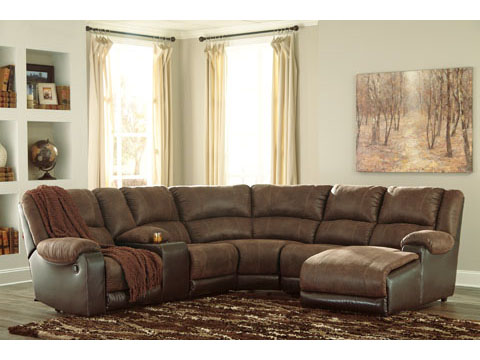 Best Reclining Couch With Chaise Nantahala Coffee Modular Reclining Sectional W Right Chaise
