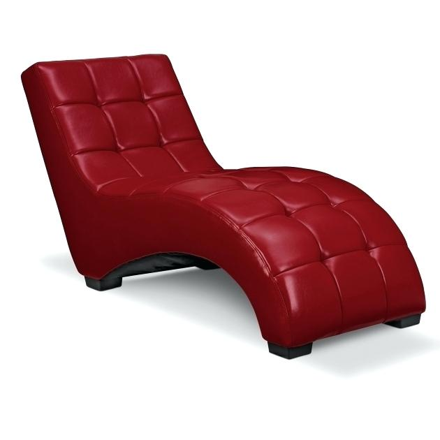 Best Red Leather Chaise Lounge Modern Leather Chaise Lounge Mobiledave