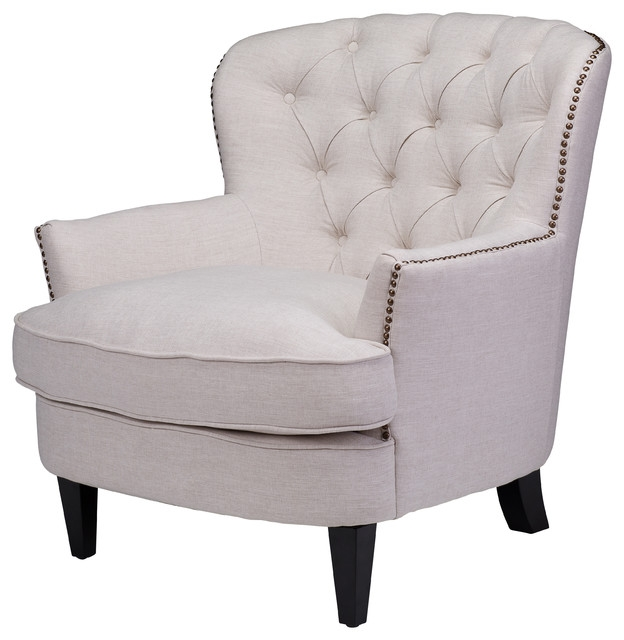Best Rooms To Go Accent Chairs Living Room Diamond Sofa Zoey Tufted Leather Accent Chair With