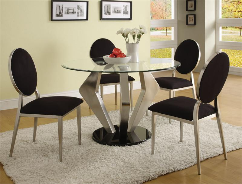 Best Round Dining Table Modern Design Stylish Ideas Contemporary Dining Table Set Astounding Design