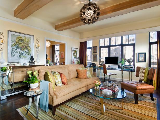 Best Seating For Small Living Room Floor Planning A Small Living Room Hgtv