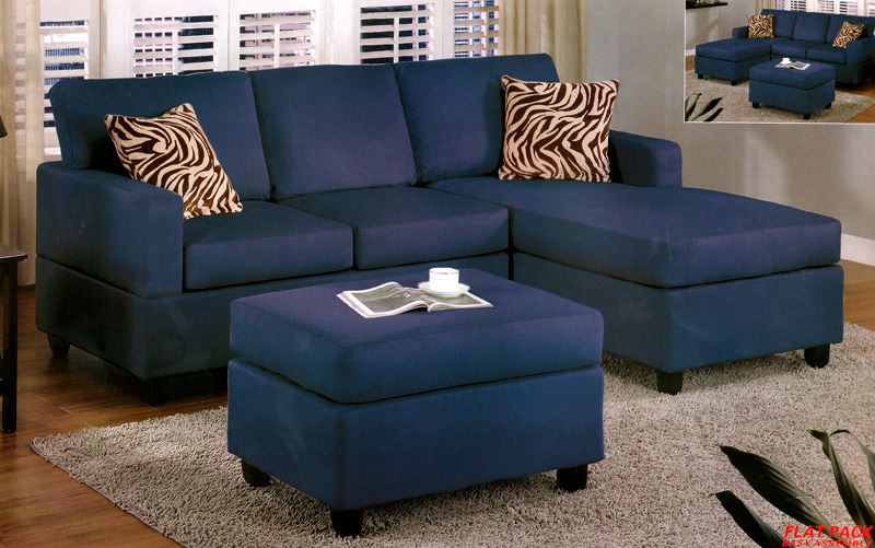Best Small Blue Sectional Sofa Navy Chaise Couch Thesecretconsul