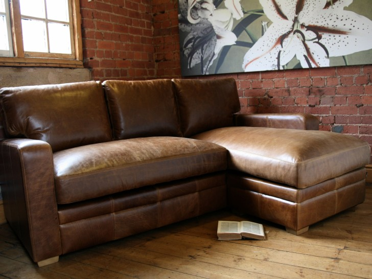 Best Small Brown Leather Sofa Dark Small Small Brown Leather Sofa With Tufted Pattern Elegant