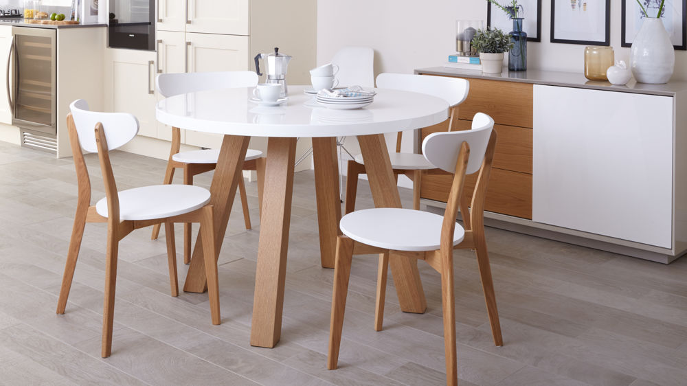 Best Small White Round Dining Table Choose Chairs For A White Round Dining Table Rs Floral Design