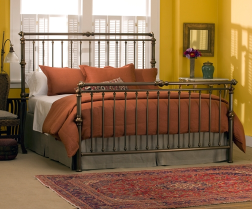 Best Solid King Bed Frame Solid Brass Sleigh Bed Charles P Rogers Beds Direct Makers Of