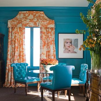 Best Turquoise Leather Dining Chairs Turquoise Tufted Dining Chair Design Ideas