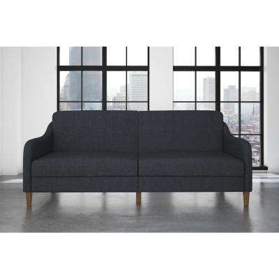 Best Twin Size Futon Set Blue Futon Set Fabric Futons Living Room Furniture The