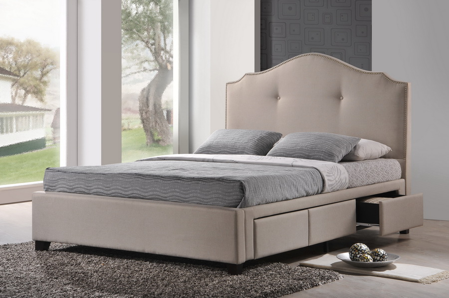 Best Upholstered Bed Frame With Drawers Elegant Upholstered King Bed With Storage Upholstered King Bed