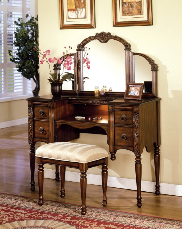 Best Vanity Sets With Mirror And Bench Antique Vanity Table With Mirror And Bench Home Furnishings