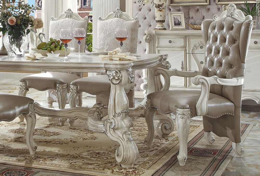 Best Victorian Dining Chairs Marlyn Victorian Dining Room Table Set