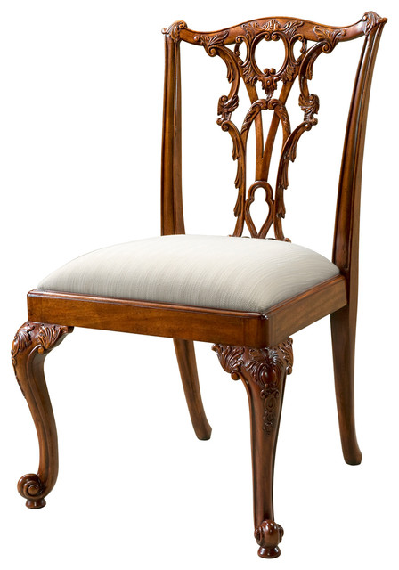 Best Victorian Dining Chairs Theodore Alexander Seated In Rococo Splendour Dining Chair
