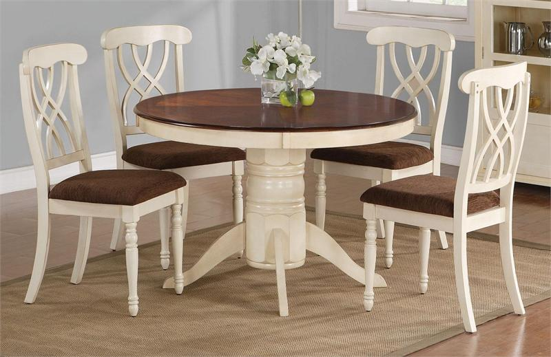 Best White And Brown Dining Chairs Impressive Small Round Table And Chairs With Round Kitchen Tables