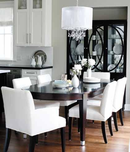 Best White Parsons Chairs Dining Room Parsons Dining Chairs Contemporary Dining Room Benjamin