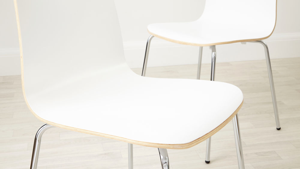 Best White Wood Dining Chairs Painted Wood Dining Chair Chrome Legs Uk Delivery