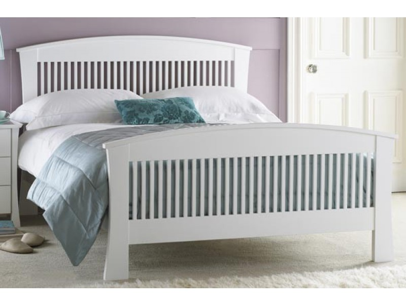Best White Wooden Bed Frame Hampton Kingsize White Wooden Bed Frame Wooden Pine Beds