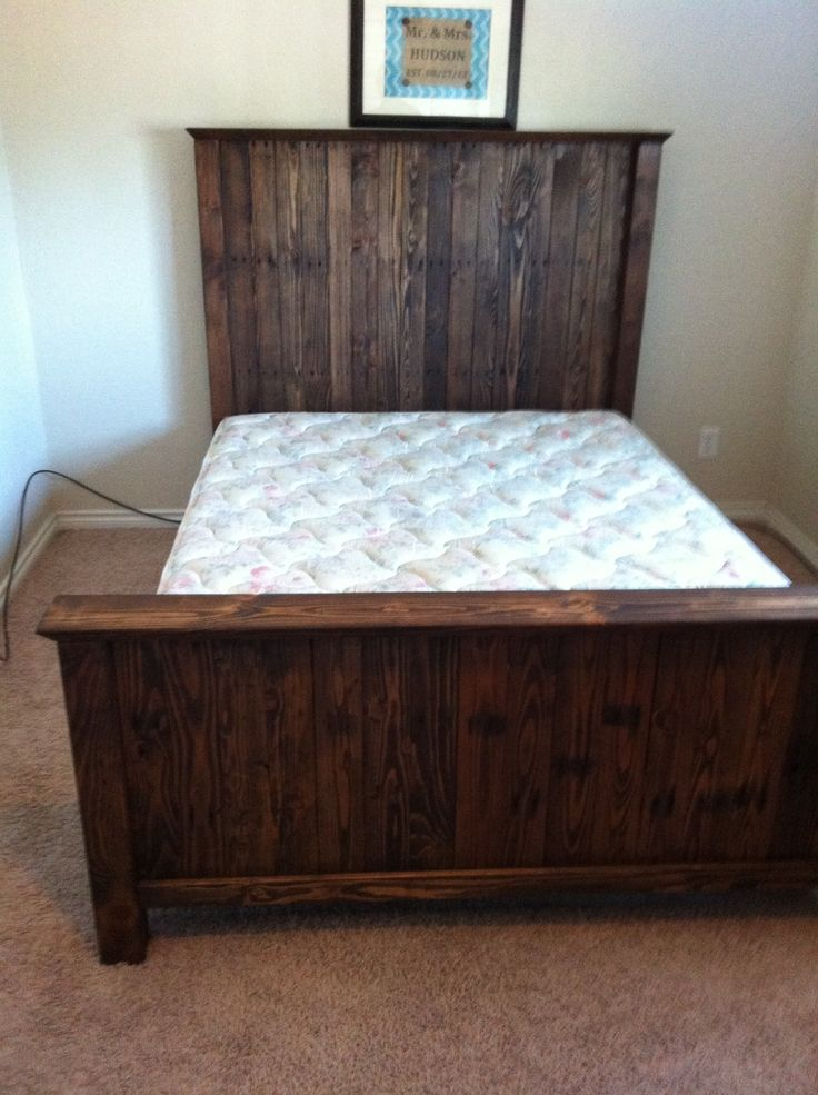 Best Wood Bed Headboards And Footboards Elegant How To Make A Wood Headboard And Footboard 30 On King Size