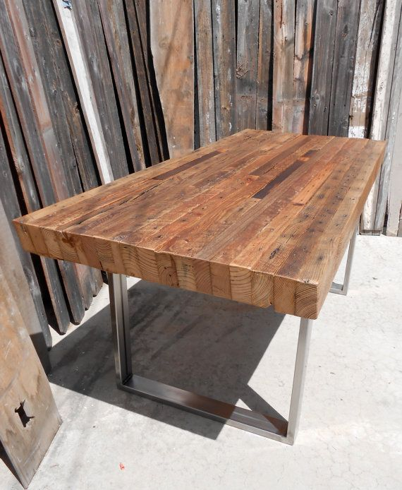 Best Wooden Breakfast Table Best 25 Reclaimed Dining Table Ideas On Pinterest Dining Table