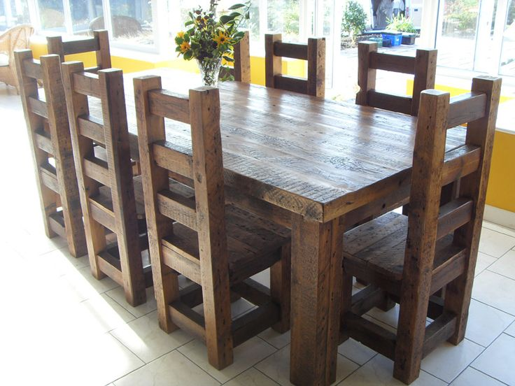 Best Wooden Dining Room Chairs Best 25 Wooden Dining Tables Ideas On Pinterest Wood Table