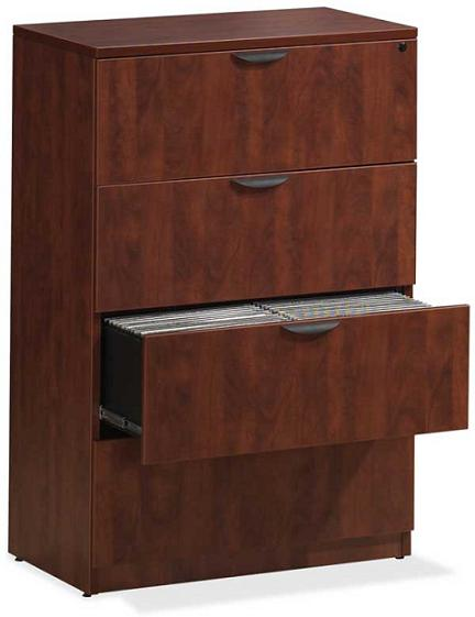 Brilliant 4 Drawer Wood File Cabinet With Lock Ndi Office Furniture Locking Lateral File Cabinet 4 Drawer