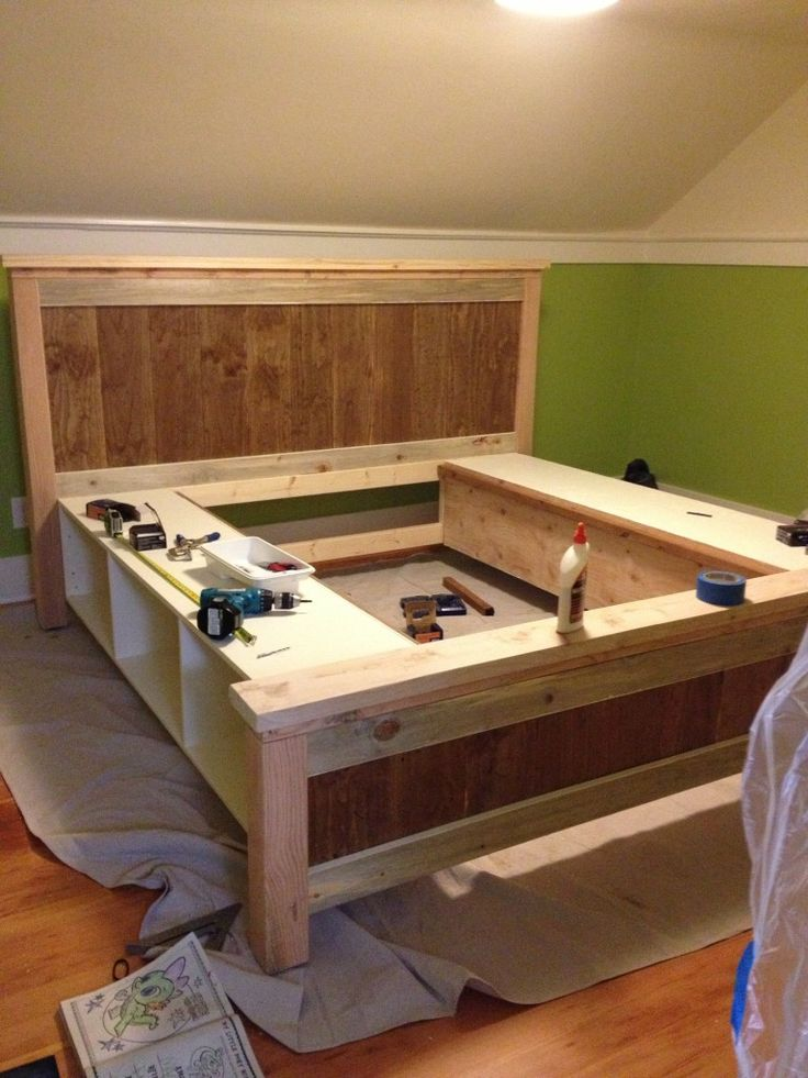 Brilliant Add Slats To Bed Frame Best 25 Wooden Bed Frame Diy Ideas On Pinterest Wooden Beds