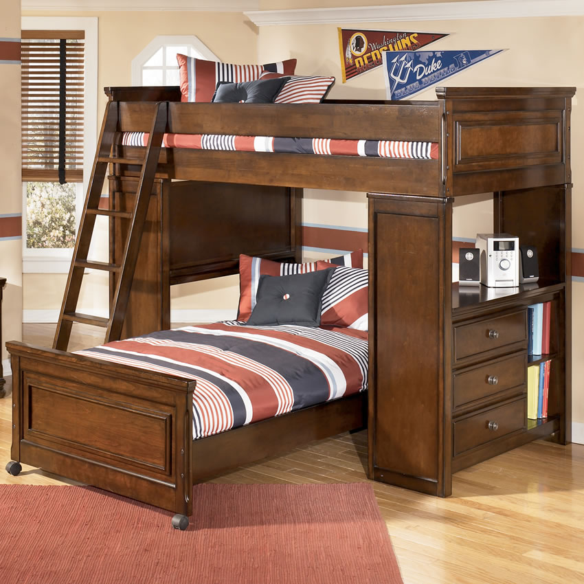 Brilliant Ashley Furniture Kids Bunk Beds Great Bobs Furniture Bunk Beds Liberty Interior