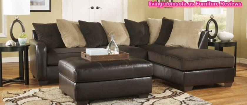 Brilliant Ashley Furniture L Couch Black Sectional L Shaped With Ottoman Ashley Furniture