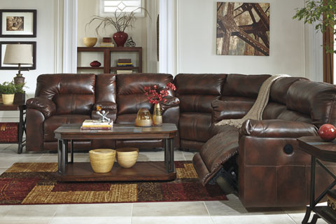 Brilliant Ashley Furniture Leather Living Room Sets Living Rooms At Mattress And Furniture Super Center