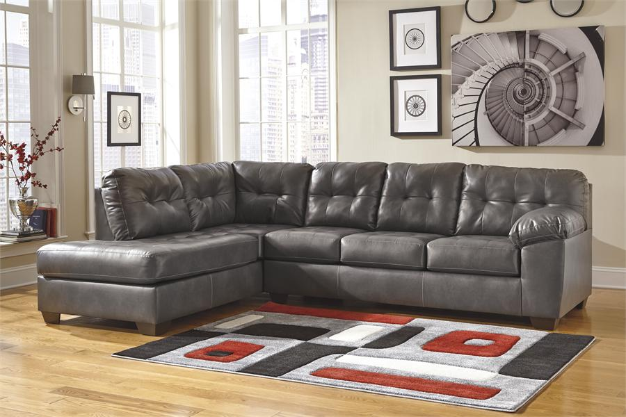 Brilliant Ashley Sectional Sofa With Chaise Alliston Gray Left Arm Facing Chaise Sectional Ashley Furniture
