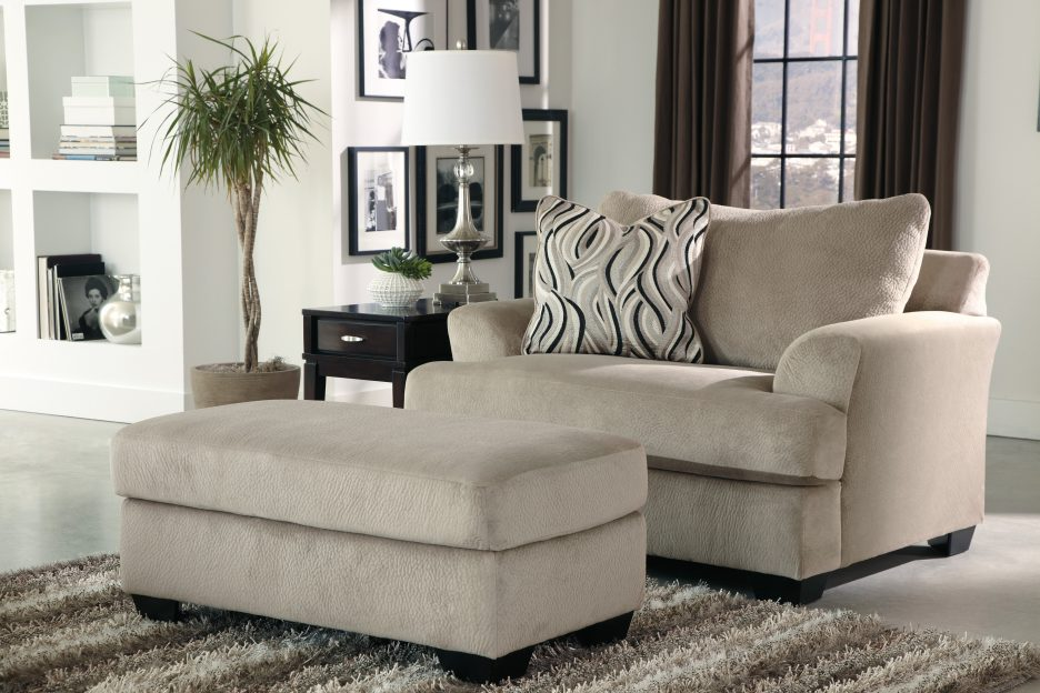 Brilliant Big Comfy Chair With Ottoman Ottoman Beautiful Superb Oversized Chair And Half For Home Decor