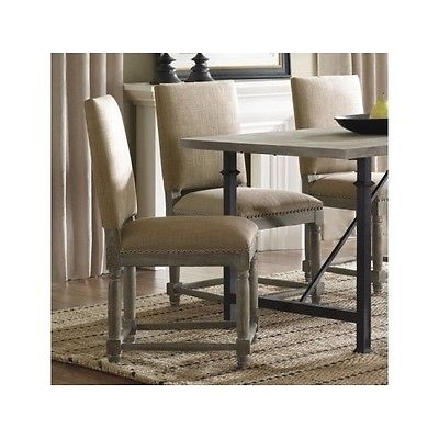 Brilliant Black Dining Chairs With Upholstered Seats Rustic Dining Chairs Reclaimed Wood Finish Nail Head Trim