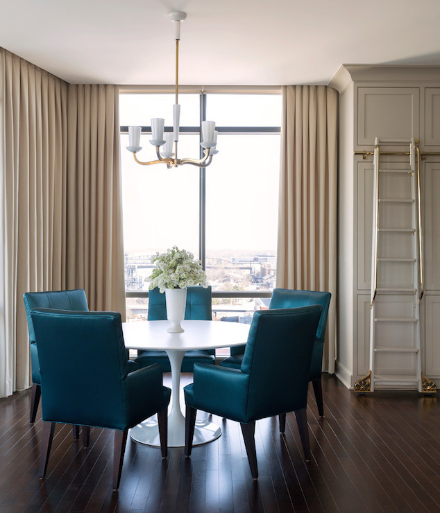 Brilliant Blue Dining Chairs Peacock Blue Dining Chairs Contemporary Kitchen Sherwin