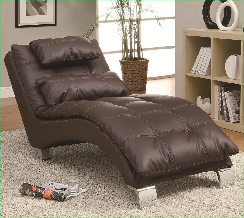 Brilliant Brown Chaise Lounge Indoor Bedroom Splendid Small Bedroom Chaise Lounge Chair Bedroom